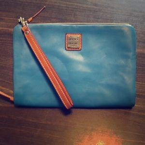 Dooney & Bourke leather clutch